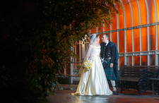 Winter Wedding in The Kibble Palace