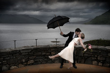 Mary Poppins Wedding Moment