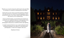Mar Hall wedding testimonial