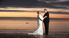 Ayr Beach Wedding