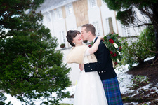 Winter wedding at House for an Art Lover